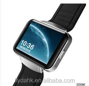 Big touch screen 2.2inch smart watch mtk6572 android smart watch 3g gps android 4.4 android watch phone DM98
