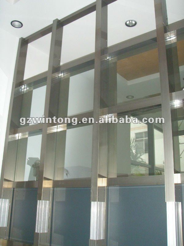 commercial building aluminium&glass curtain wall
