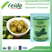 hot pickled sliced jalapenos in glass jars/gallons/drum/tins FEIDA