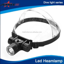 2014 New Product Stepless Dimming Diving Flashlight Max 1000-Lumen XM-L T6 Led Headlamp