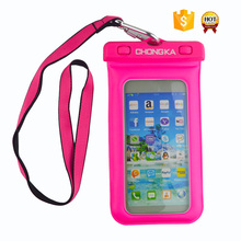 Dual Defense Waterproof Pouch Bag Case Cover for Galaxy S2 for iPhone 4 4S 5 All Phones
