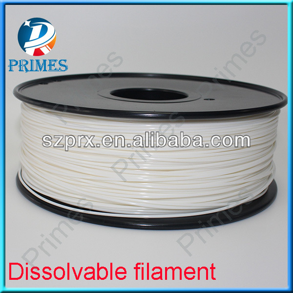 Dissolvable Filament Compatible With MakerBot Replicator 2X
