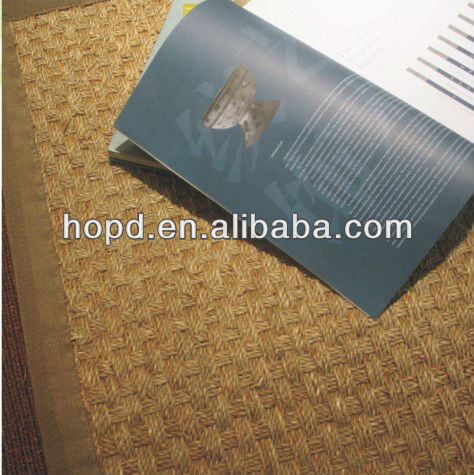 latex back sisal jute carpet for home use