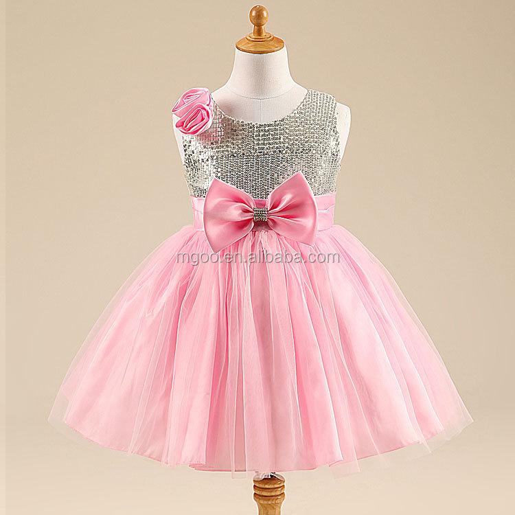 Lujoso Vestidos De Fiesta De Color Rosa Para Los Bebés Galería ...
