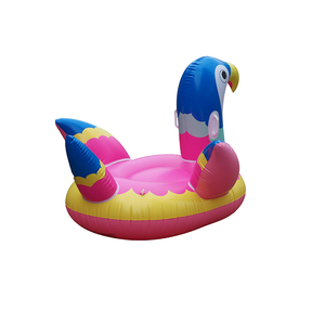 Giant inflatable water parrot pool toys