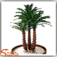 nearly nature cheap top quality artificial ornamental indoor palm trees and plants for sale