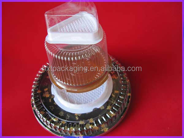 Factory manufacture various clear plastic fruit cake packaging