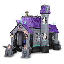 Inflatable Halloween bounce house, playhouse for kids and adult, bounce for sale