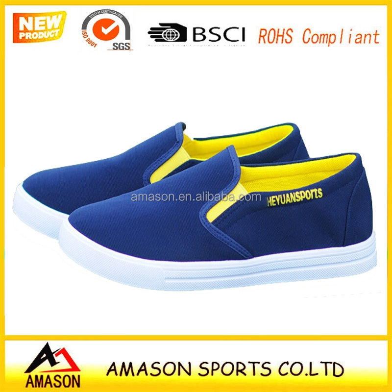2017 fashion canvas shoes for men Chinese factory cheap men canvas shoes latest styles 001