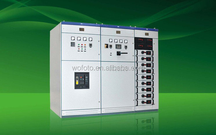 380V GCS series low voltage draw-out power distribution switchgear/switch cabinet/switch cubicle