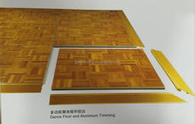 Foshan hotel furniture dancing floor and mobile stage for sale