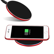 Wireless Charging Technology QI Standard Wireless Charger Receiver Case for iPhone I7/I6/I6S,I7+/I6+/I6S+ from ISK