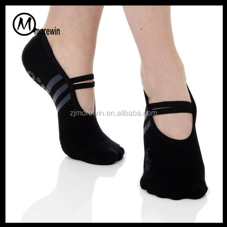 Morewin brand women's ballet Grip Socks for women yoga pilates socks wholesale