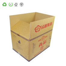 Recyclable Custom Printing Liquor Corrugated Boxes