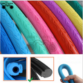 700*23c colored fixed gear bike tires solid non inflatable bicycle tire