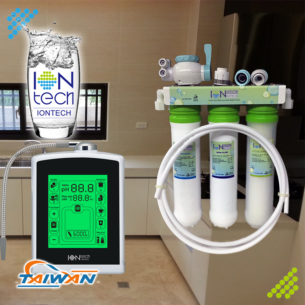 IT-P302 Iontech home appliance under counter 3 stage water filter purifier