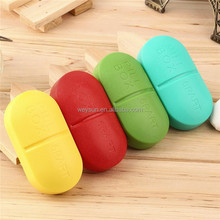 2016 Portable Travel 6-Slot Medical Pill Box Holder Medicine Case Drug Storage New