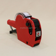 Portable one line 8 bits plastic price label gun
