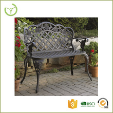 New product China supplier garden benches cheap sofa metal antique cast iron garden bench chair furniture