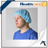 PP bouffant cap;nonwoven round cap;disposable nurse cap