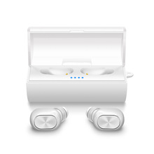 Hot Selling True Wireless Bluetooth 4.2 Earphone TWS Earbuds With Charging Case