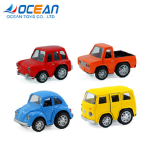 1:36 scale small die cast toy music metal handmade model cars with opening door
