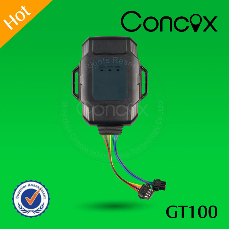 Hot Sale Lowest Price Small Dimension GT100 Motor GPS Tracker Set GPS Data Upload Interval by Concox Manufacture