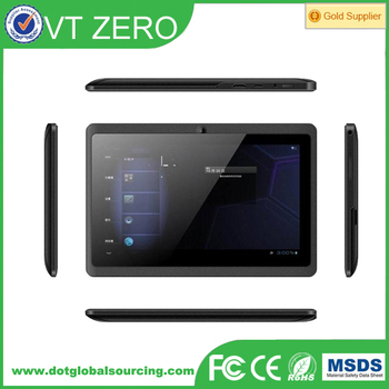 "Q8 7"" Dual Core 1.3GHZ Android 4.4 Kitkat Tablet pc"