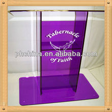 An-a725 Modern Factory Sell Acrylic Pulpit Furniture,Glass Pulpits For Churches,Plexiglass Church Pulpit