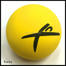2016 promotional hollow rubber ball, bouncy ball