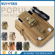 Tactical military running waist bag Universal Running Belt Pouch Wallet Mobile Cell Phone Case Cover Bag