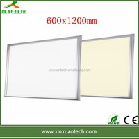 Factory price High Efficiency 3years warranty energy saving 60x120cm led panel office lighting