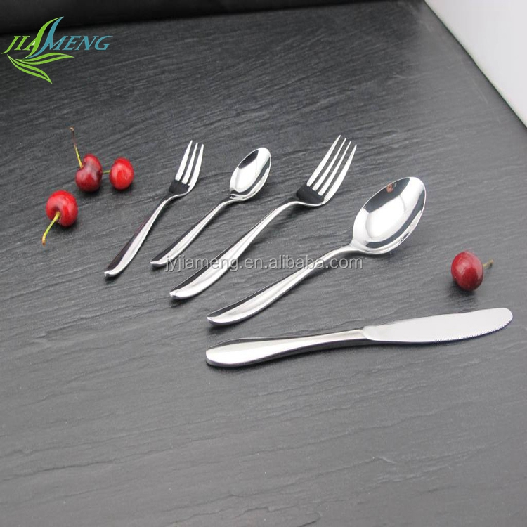 <strong>Stainless</strong> Steel Kitchen Fork And Spoon Gift Set Cutlery Set