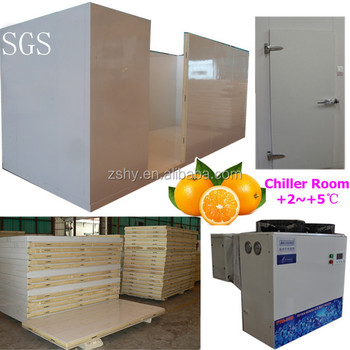 Portable cold storage for fruit chill room for orange