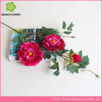 Super quality silk rose artificial flowers for wedding decoration