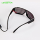 Party heart glasses new fashion light up flash glowing classic glow toys LED glasses