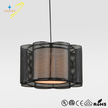 GZ50062-1P one light black laser cut metal pendant light for table top