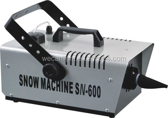Hot sell !! 600W Snow machine snow making machines ice snow machine for stage concert show disco