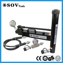 Double acting hydraulic hydraulic