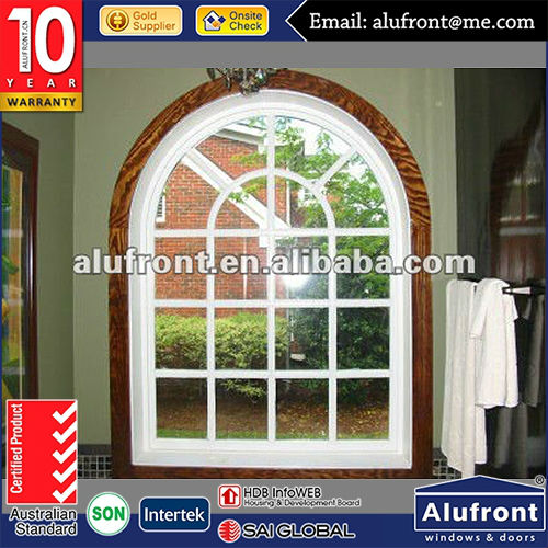 Thermally Broken Aluminium Circular Window with Double Triple Glass