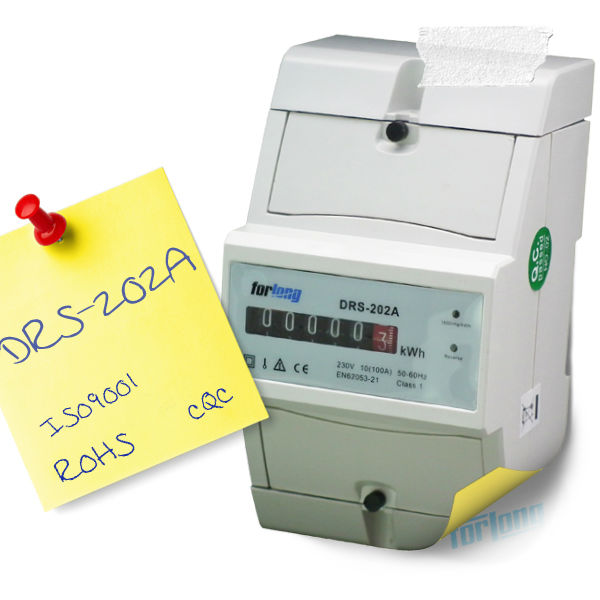 60A watt power meter for energy saving devices