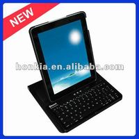 Bluetooth Wireless keyboard with 360degree Rotating Cover For Ipad2