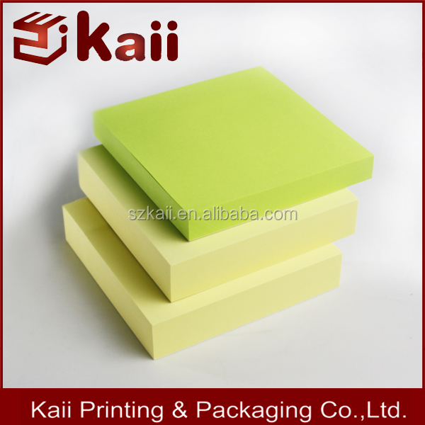colorful paper block memo cube note cube manufacture reliable supplier