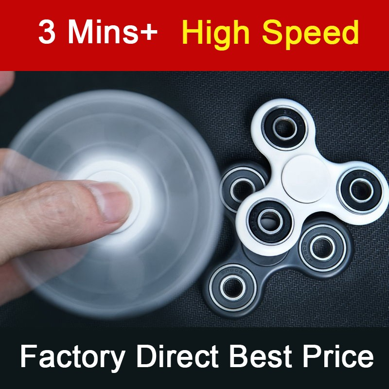 2017 Best Fidget Toy Anti Stress Toy Fidget Spinner Hand Spinner Finger Spinner In Stock