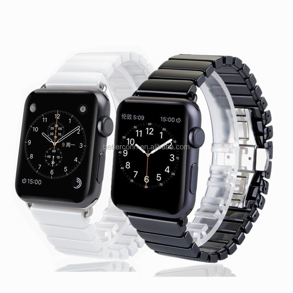 New Ceramic Bracelet Watch Band Strap Wristband For Apple Watch iWatch 38mm 42mm
