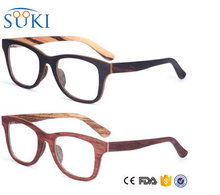 2017 promotion glasses ,wood reading glasses
