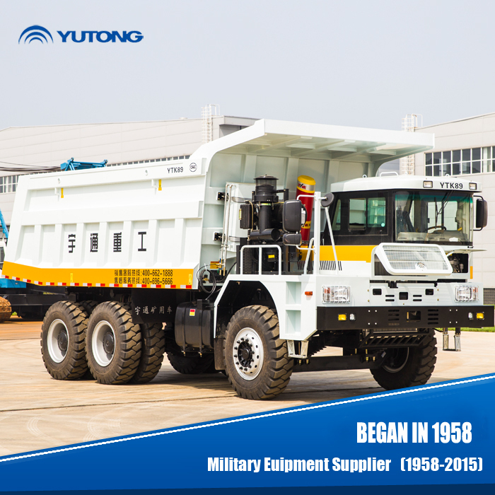 YTK89 60 Ton mining dump truck sales for Africa
