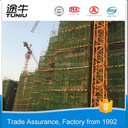 Best Seller and Good Service Provided by Direct Factory Plastic Nets mono round wire green construction Buidling Scaffolding saf