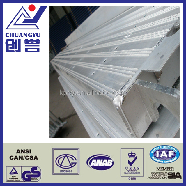 Durable Construction Aluminum Scaffold Plank