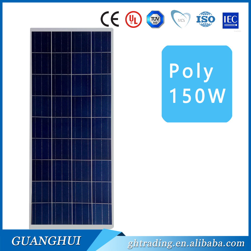 Good quality mono / poly 150 watt solar panel in stock